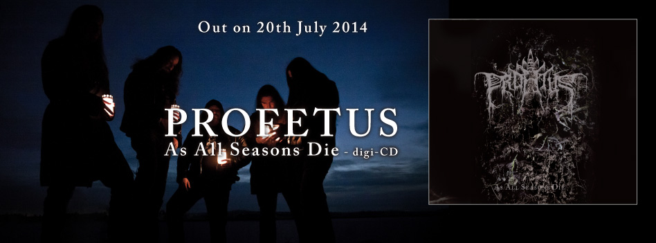 Profetus - As All Seasons Die - CD