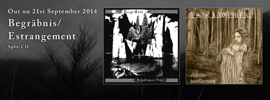 Begräbnis/Estrangement -split -  CD