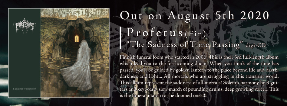 Profetus - The Sadness of Time Passing - digi-CD