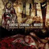 Corpse Carving (Aus) / Minceer (Ita) - Split - CD