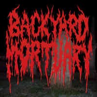 Backyard  Mortuary (Aus) - s/t - Pro CDR