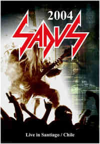 Sadus (USA) - Live In Santiago/Chile - DVD