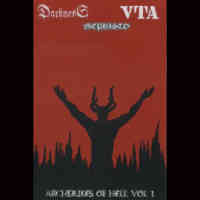 Darkness (Ita) / Mephisto (Ita) / VTA (Ita) - rchdukes Of Hell vol.1 - Pro-Cover tape
