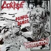 Corpse (Swe) / Putrefaction (Swe) - Painful Demos - 12""