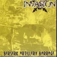 Invasion (USA) - Berserk Artillery Barrage - CD