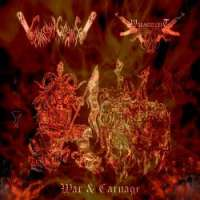 Chainsaw Carnage (USA) / Wargoatcult (Spa) - War & Carnage - CD