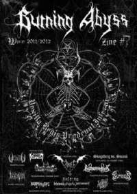 Burning Abyss - issue 7 winter 2011/2012 - A4 fanzine