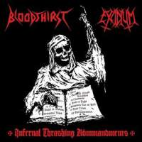 Bloodthirst (Pol) / Excidium (Pol) - Infernal Thrashing Kömmandments - CD