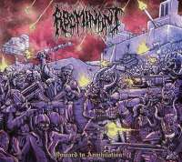 Abominant (USA) - Onward to Annihilation - digi-CD