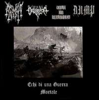 Malefic Mist (Ita) / Via Dolorosa (Ita) - Echi di una Guerra Mortale - CDR
