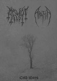 Malefic Mist (Ita) / Apathia (Ita) - Cold Ways - DIY cass