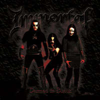 Immortal (Nor) - Damned in Black - CD