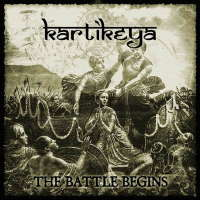 Kartikeya (Rus) - The Battle Begins - CD