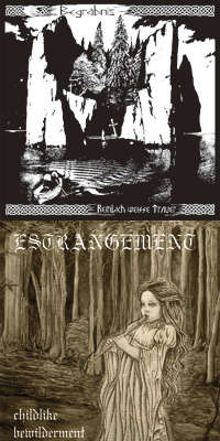 Begrabnis (Jpn) / Estrangement (Aus) - split - CD with paper sleeve