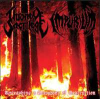Throne of Sacrilege (USA) / Impurium (USA) - Unleashing a Cacophony of Destruction - CD