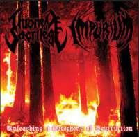 Throne of Sacrilege (USA) / Impurium (USA) - Unleashing a Cacophony of Destruction - CD