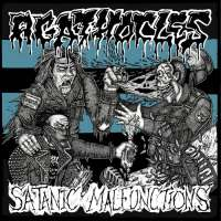 Agathocles (Bel) / Satanic Malfunctions (UK) - split - CD