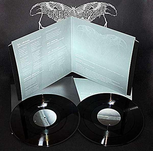 "Funeral Moth (Jpn) - dense fog(Black Vinyl Edition) - 2x12"""