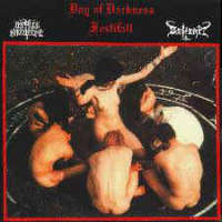 Impaled Nazarene (Fin) / Beherit (Fin) - Day Of Darkness Festifall  - CD
