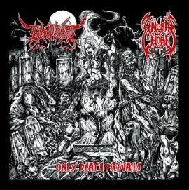 Bloodfiend (Arg) / Funeral Whore (Ned) - Only Death Prevails - CD