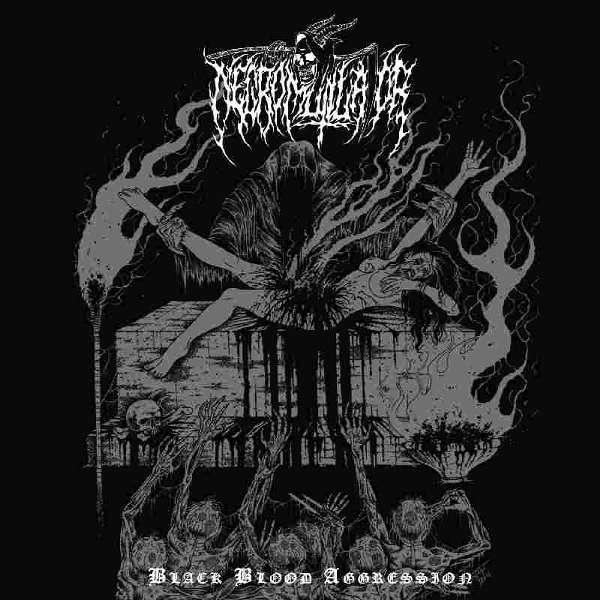 Necromutilator (Ita) - Black Blood Aggression - CD