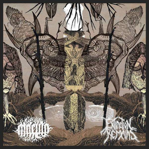 Macula (Bra) / Extinction Remains (Bra) - split - CD