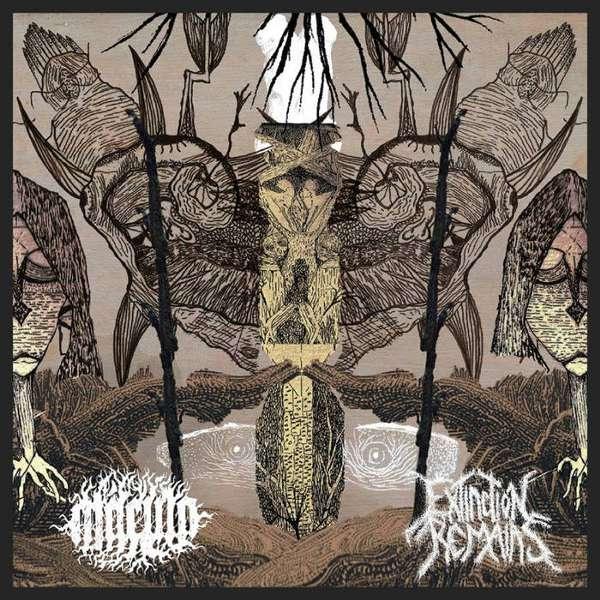 Macula (Bra) / Extinction Remains (Bra) - split - CD