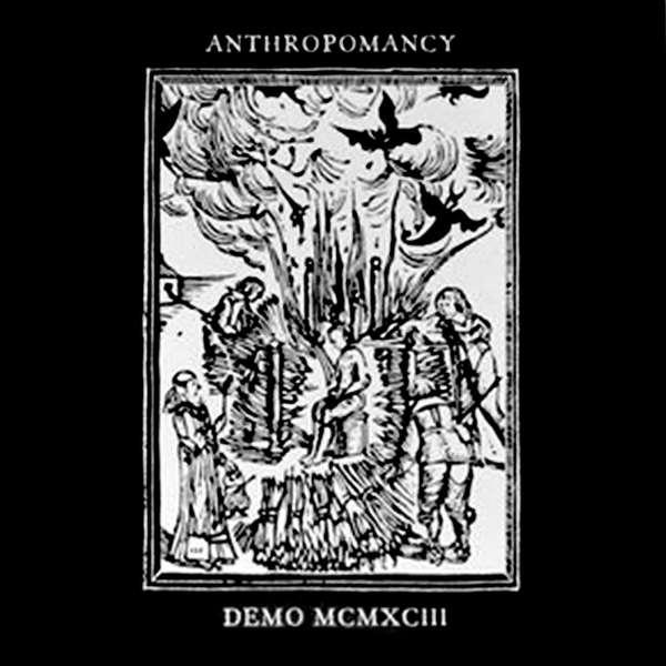 Anthropomancy (UK) - Demo 1993(black vinyl) - 12""