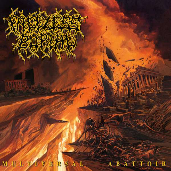 Faceless Burial (Aus) - Multiversal Abattoir  - CD