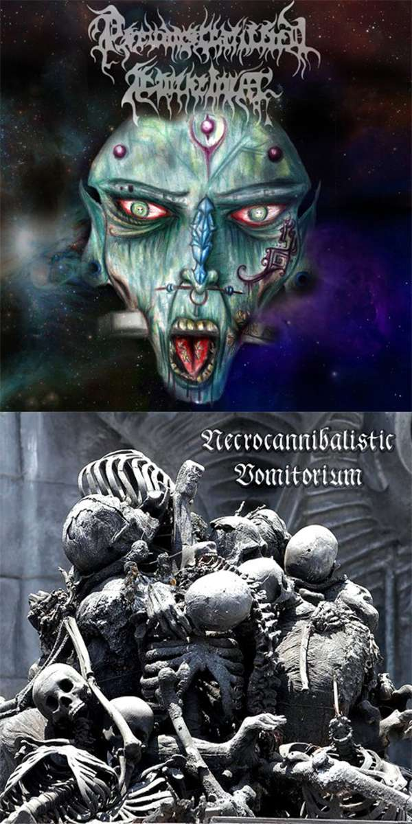 Pseudostratiffied Epithelium (Cri) / Necrocannibalistic Vomitorium (Ukr) - split - CD
